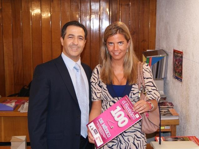 Victoria Cristóbal y José Luis Beato