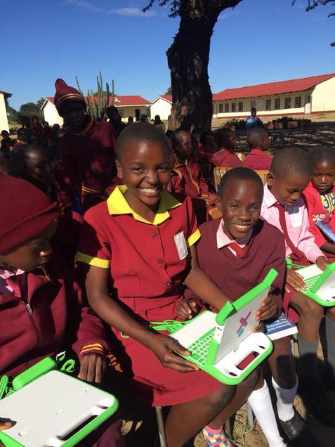 Ngamo Student and Computer