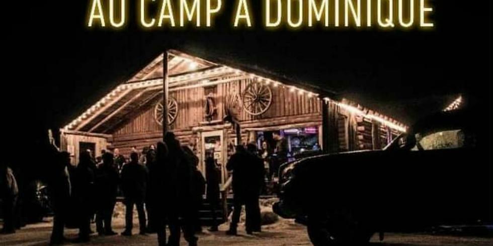 Camp à Dominique