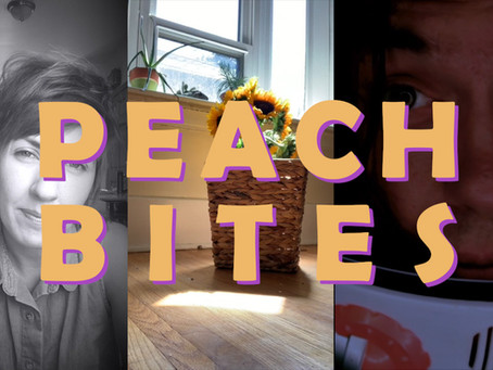 Peach Bites: Lit Vids on Instagram and Twitter