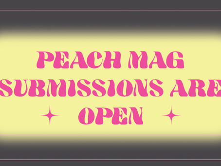 May Open Reading Period ft. Guest Fiction Editor Sasha Fletcher