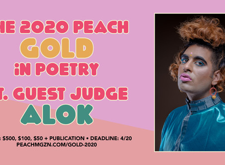 The 2020 Peach Gold in Poetry ft. ALOK