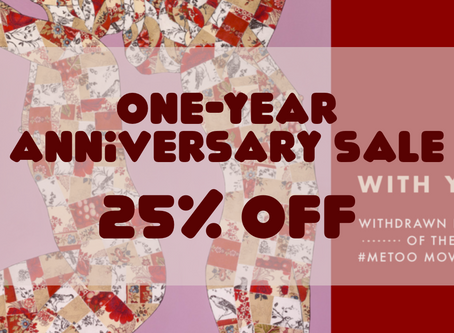 With You Is 25% Off for Its One-Year Anniversary