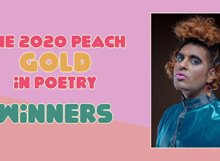 Winners of the 2020 Peach Gold in Poetry