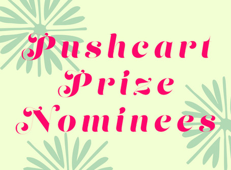 Peach's Pushcart Prize Nominees