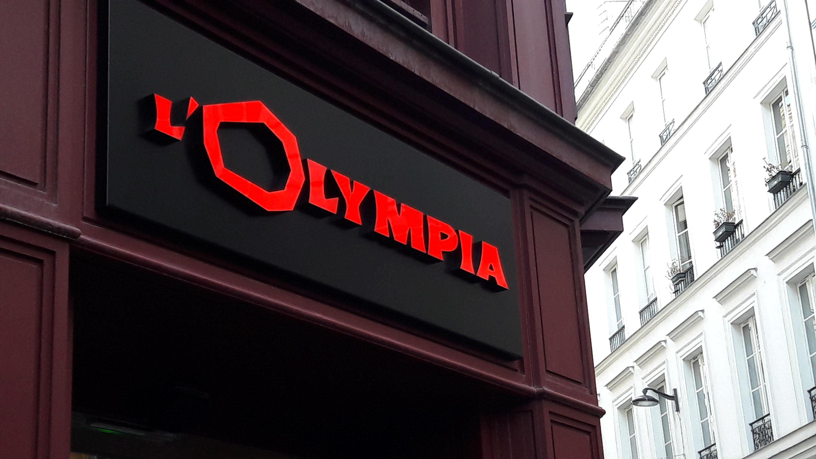 OLYMPIA Entrée des Artistes
