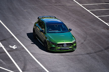 Mercedes A250 wrap
