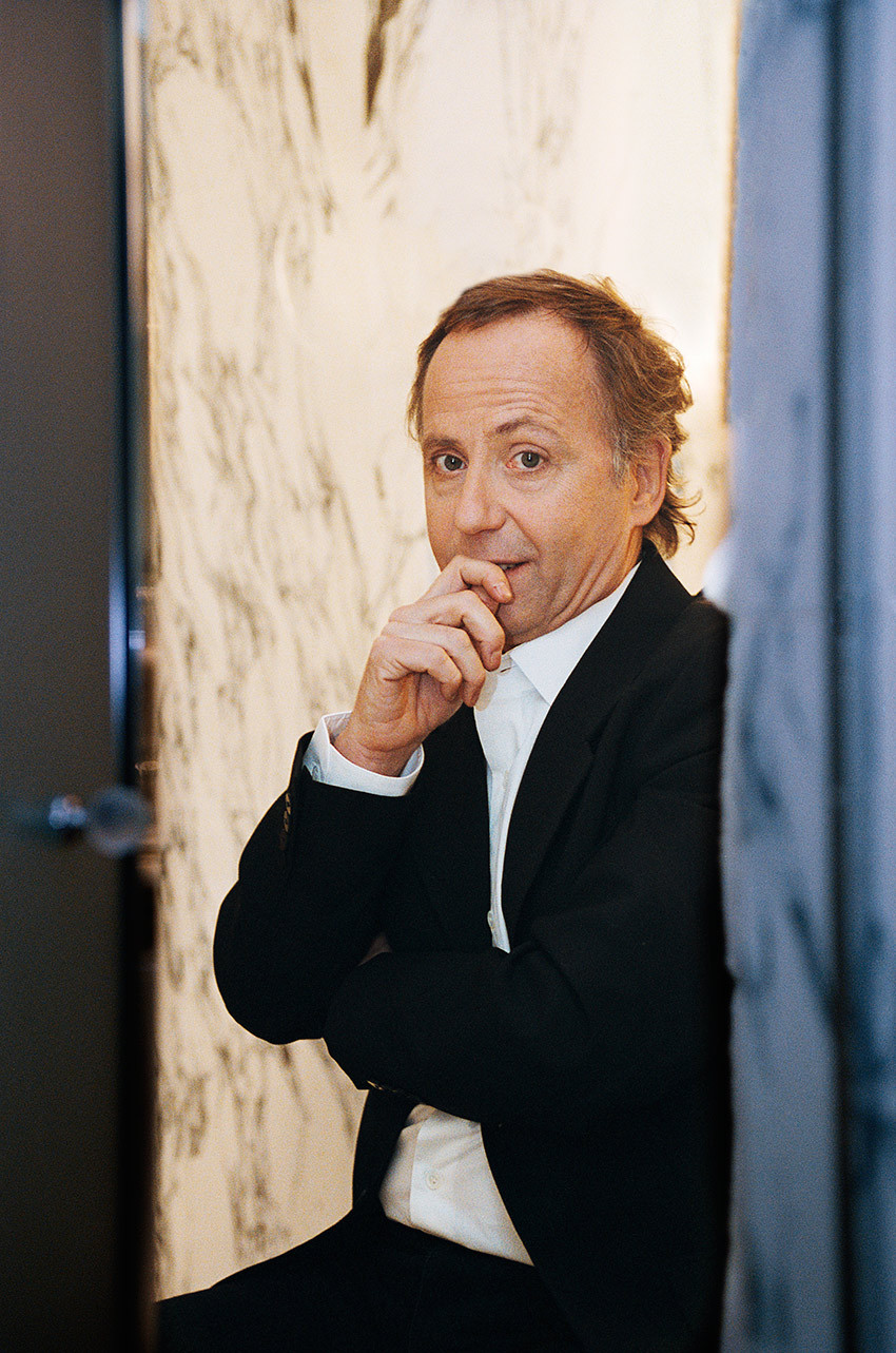 Fabrice Luchini for Paris Match © Jérémie Bouillon