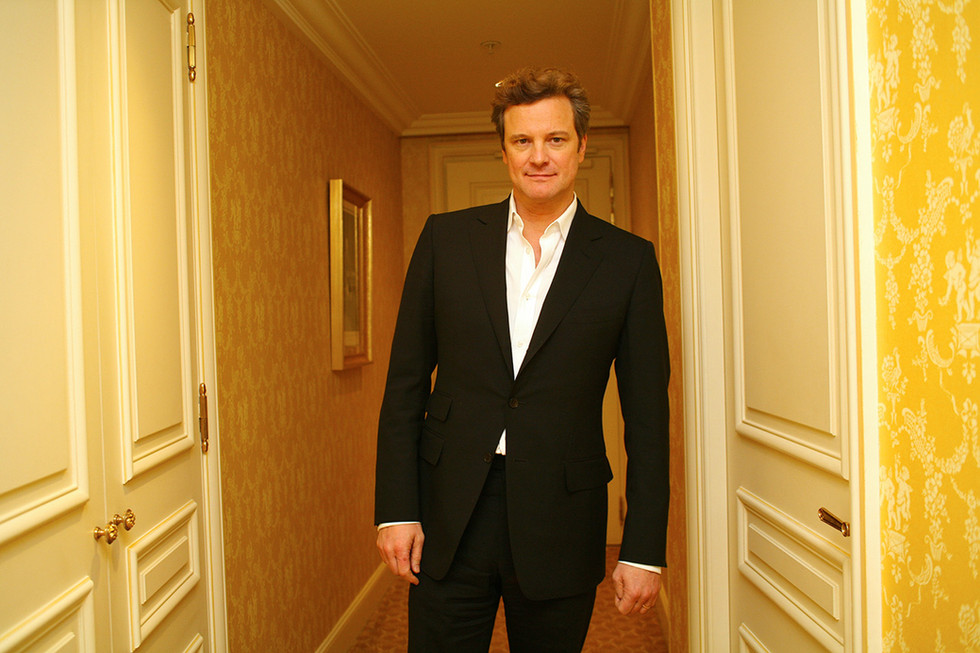 Colin Firth for Paris Match © Jérémie Bouillon
