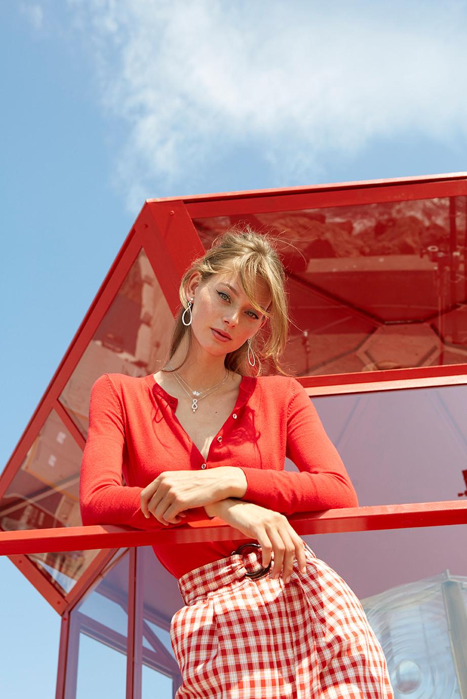 Lauren de Graaf for Swarovski - © Jérémie Bouillon