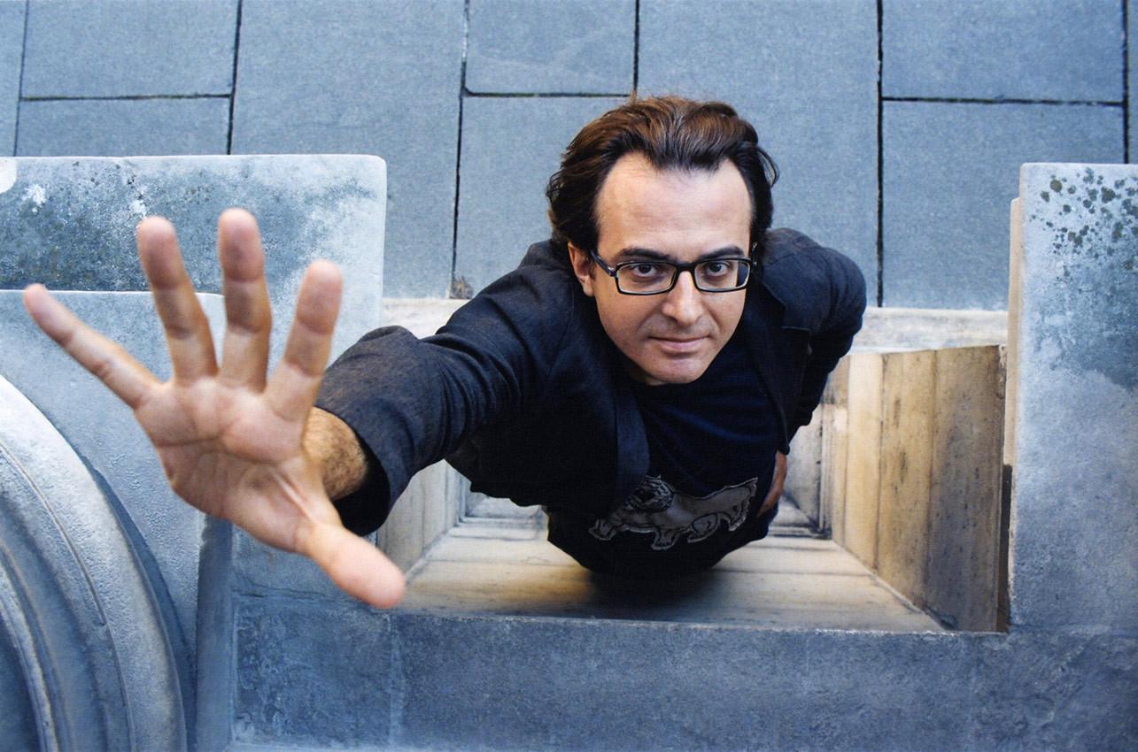 Charles Dantzig for Paris Match © Jérémie Bouillon