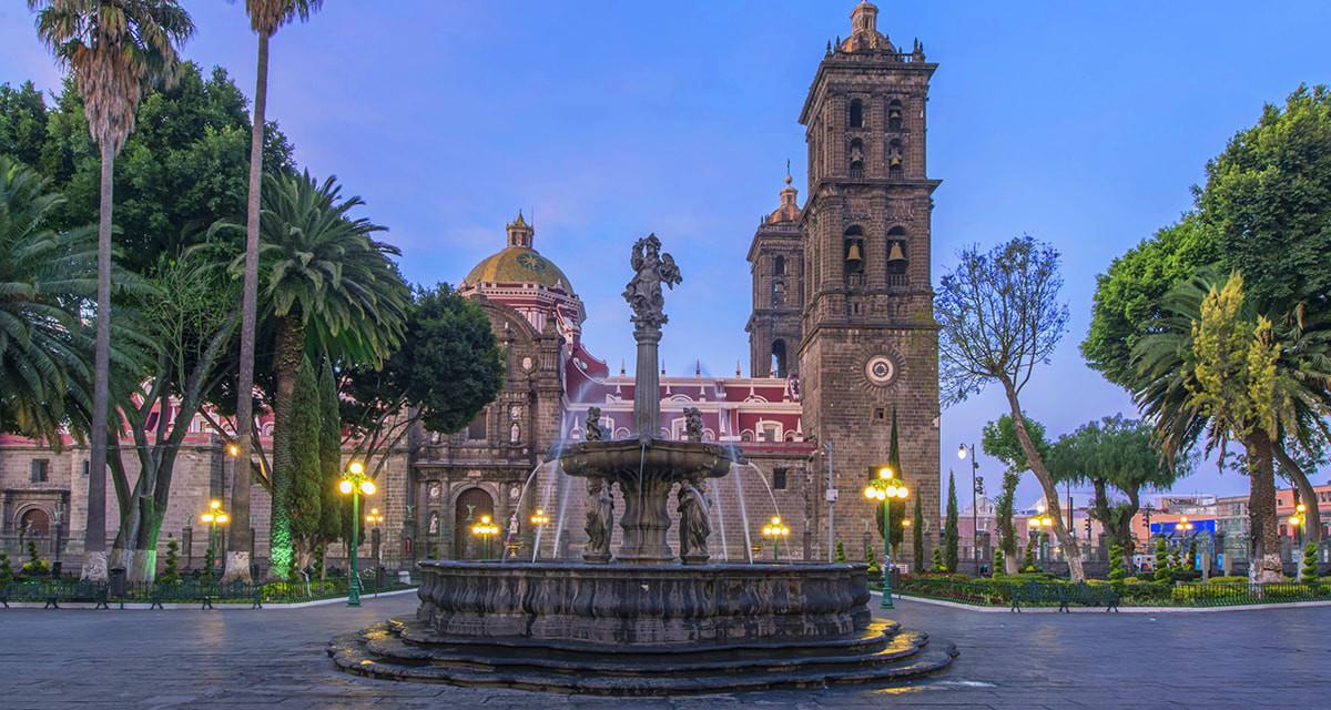 The Zocalo of Puebla