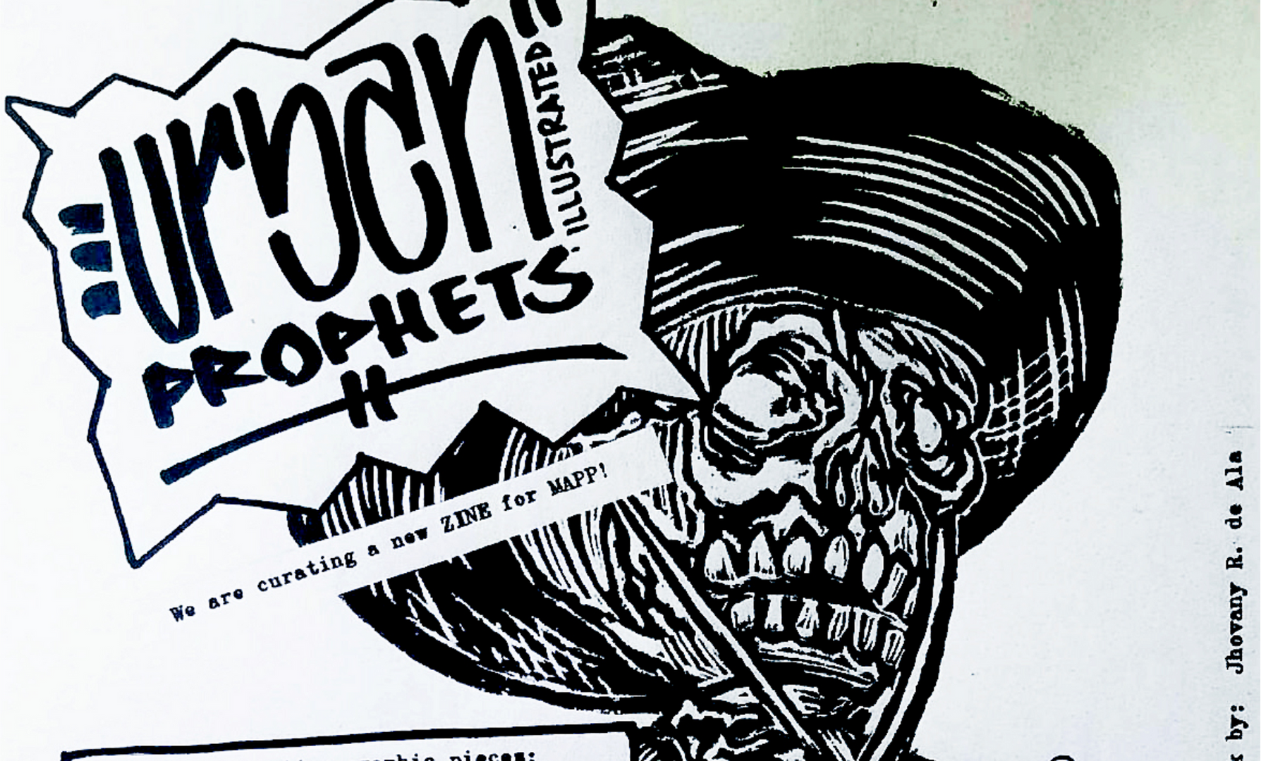 URBAN PROPHETS ILLUSTRATED - ZINE