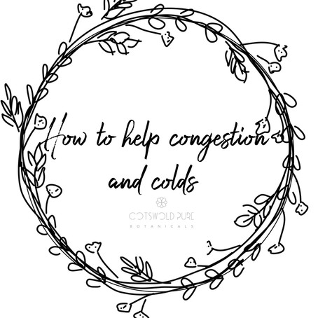 How to relieve congestion and colds with essential oils