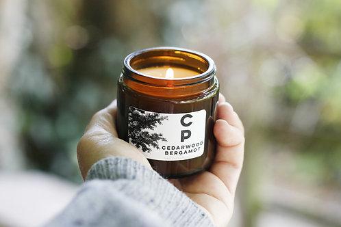 Cedarwood and Bergamot Candle