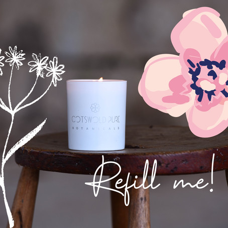 Can candles be recycled?