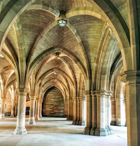 University's cloisters