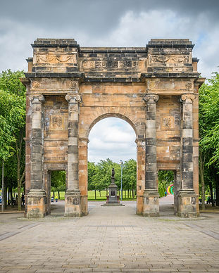 Glasgow Attractions Tour - McLennan Arch