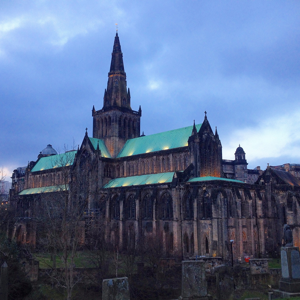 View of Glasgow Cathedral from Necropolis