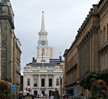 Glasgow's Ingram Street - The Statuesque Mistake