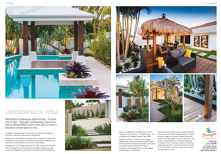 Magazine worthy Gold Coast garden and landscaping