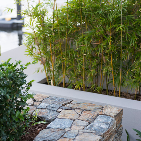 Stonework adds welcome textural and structural elements to any landscape.