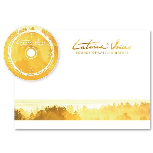 "Book + CD ""Sounds of Latvian Nature"""
