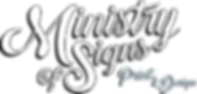 Ministry of Signs - Logo