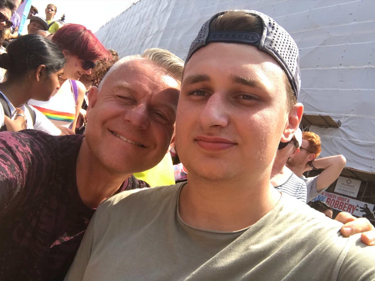 Bamber-Delver-met-Jordy-Buijs-selfie