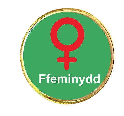 Bathodyn bach 'Ffeminydd'