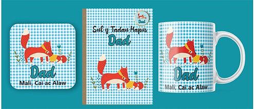 Set 'Dad' (cadno) Sut y Tadau
