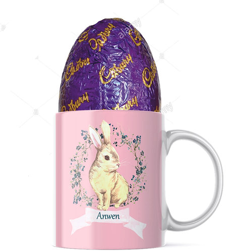 Myg Pasg gydag wy/Easter mug with egg