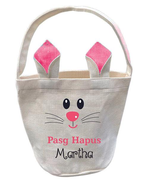 Bag Pasg wedi'i bersonoli/personalised Easter Bag
