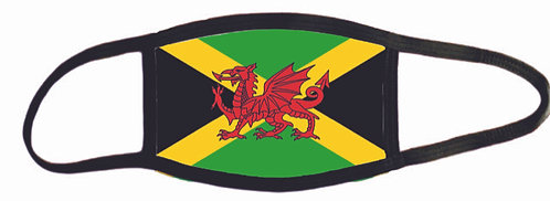 Jamaican-Welsh Mask