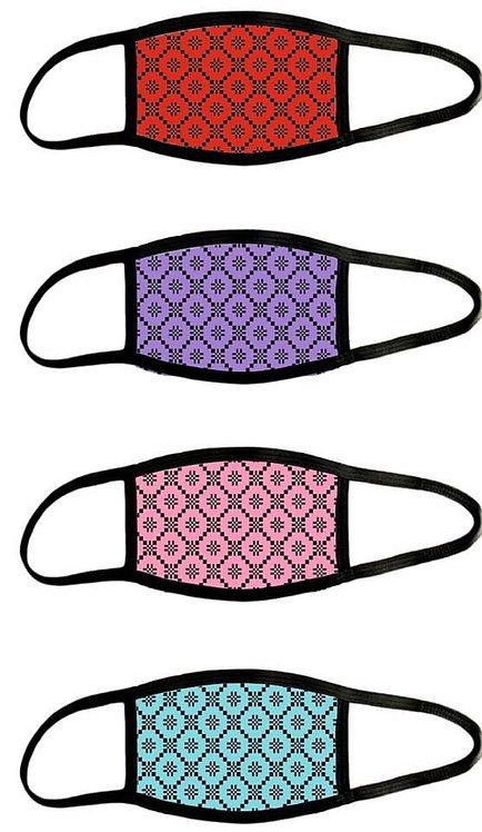 Welsh Blanket Pattern Masks