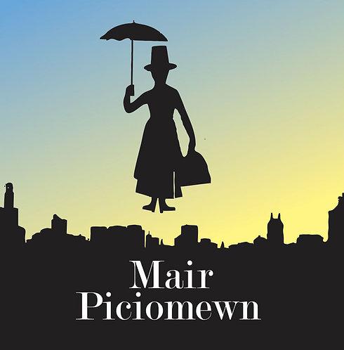 Dyluniad Mair Piciomewn