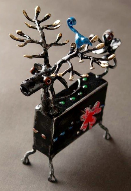 "Music Box ""Deer"" ¥18,000+Tax"
