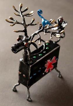 "Music Box ""Deer"" ¥18,000+Tax"