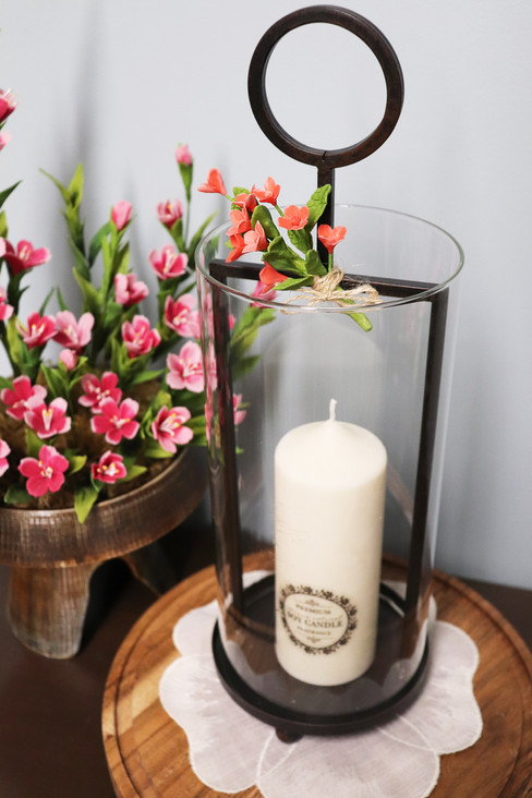 Soy Candle with Candle Holder