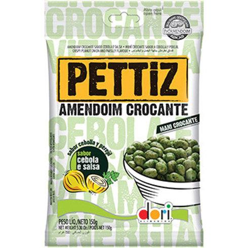 Amendoim PETTIZ Crocante Cebola e Salsa 150g