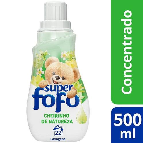 Amaciante Concentrado Fofo Cheirinho de Natureza 500ml