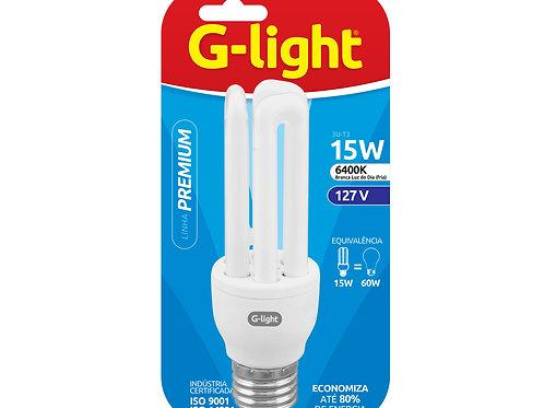 lâmpadas fluorescentes compactas G-light 15w