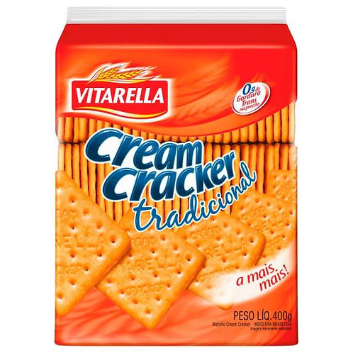 Biscoito cream cracker Vitarella 400g