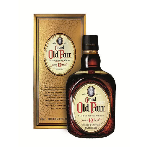 Whisky Grand Old Parr 12 Anos 1 Litro