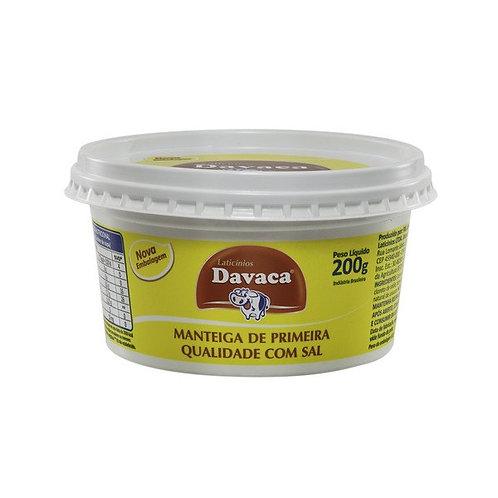 Manteiga Davaca Com Sal Pote 200 g