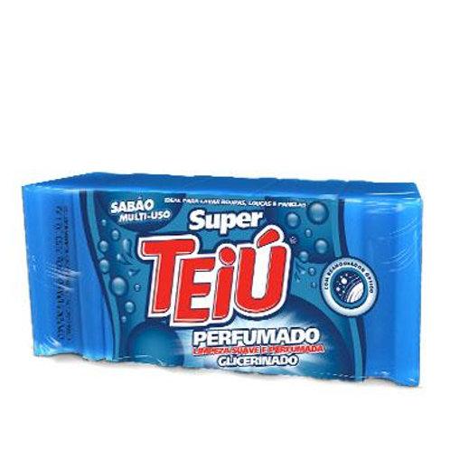 Sabão em Barra Teiu Azul 5 Un Embalagem 200G