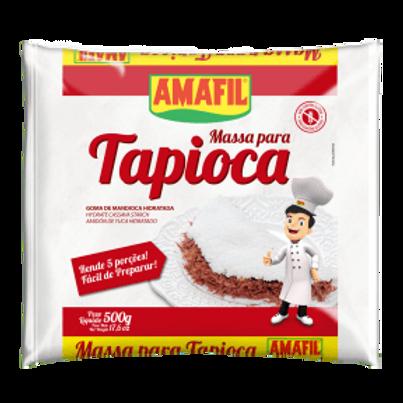 Tapioca Amafil Hidratada Pacote 500G
