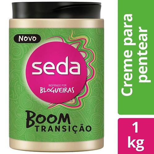 Creme Para Pentear Seda Boom Transição 1kg