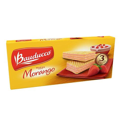 Biscoito BAUDUCCO Wafer de Morango Pacote 78g