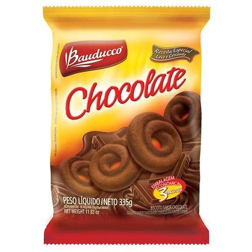 Biscoito Doce Bauducco Amanteigado Chocolate Pacote 335G